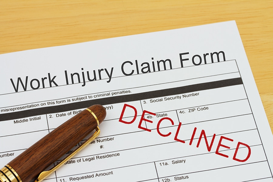Workers Comp Denied